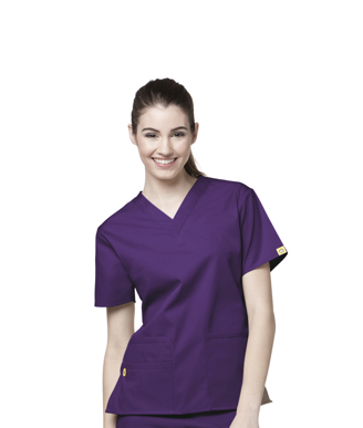 Picture of NNT Uniforms-CATU66-PUR-Scrub top Bravo