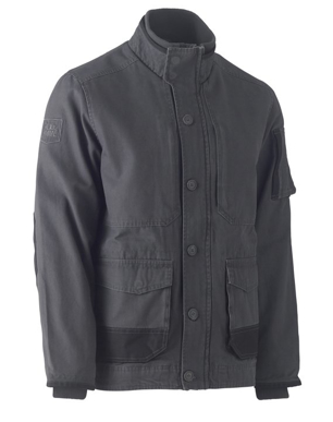Picture of Bisley Workwear-BJ6500-Flex & Move™ Canvas Jacket