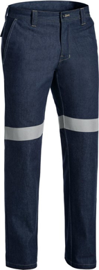 Picture of Bisley Workwear-BP8091T-Taped Fr Denim Jean