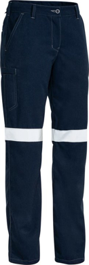 Picture of Bisley Workwear-BPL8092T-Womens Tencate Tecasafe® Plus 700 Taped Fr Cargo Pant