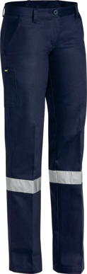 Picture of Bisley Workwear-BPL6007T-Womens 3M Taped Original Drill Work Pant