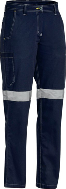 Picture of Bisley Workwear-BPL6431T-Womens 3M Taped Cool Vented Lightweight Lightweight Pant