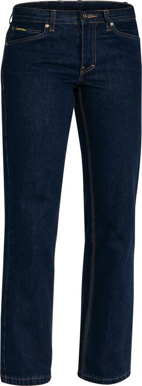 Picture of Bisley Workwear-BPL6053-Womens Industrial Boot Leg Work Denim Jean