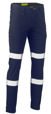 Picture of Bisley Workwear-BPC6008T-Taped Biomotion Stretch Cotton Drill Cargo Pants