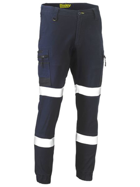 Picture of Bisley Workwear-BPC6334T-Flex And Move™ Taped Stretch Cargo Cuffed Pants