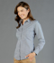 Picture of Gloweave-1637WHL-WOMEN'S GINGHAM SLIM FIT SHIRT-WESTGARTH