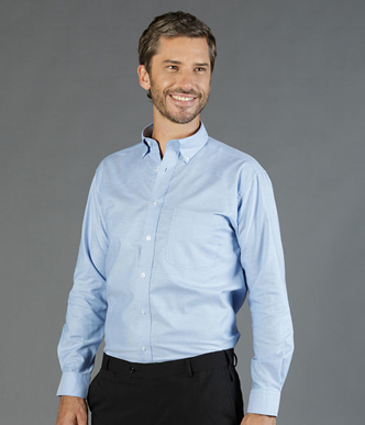 Picture of Gloweave-1015L-MEN'S OXFORD LONG SLEEVE SHIRT-OXFORD