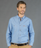 Picture of Gloweave-5045LN-MEN'S ICON LONG SLEEVE CHAMBRAY SHIRT