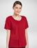 Picture of Corporate Reflection-6400S37-Jewel Ladies Semi Fit Short Sleeve blouse