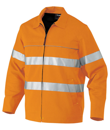 Picture of King Gee-K55805-Reflective Drill Jacket