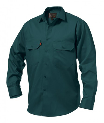 Picture of King Gee-K04010-Open Front Drill Shirt L/S
