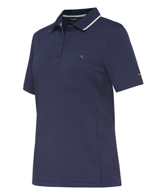 Picture of King Gee-K44740-Workcool Hyperfreeze Polo S/S Womens