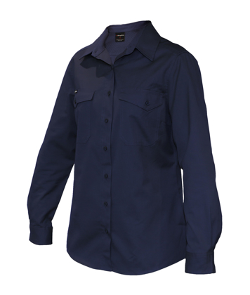 Picture of King Gee-K69880-Workcool 2 Womens Shirt L/S
