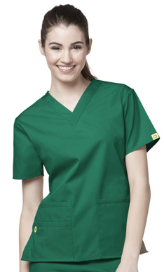 Picture of NNT Uniforms-CATU66-GRN-Scrub top Bravo