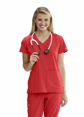 Picture of SKECHERS Scrubs by Barco-SKT025-Ladies Focus Scrub Top