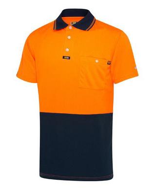 Picture of Visitec-VPAS-S/S Airwear Basic Polo - Men's