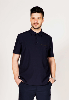 Picture of City Collection-CA4T-City Active Mens Short Sleeve Healthcare Polo