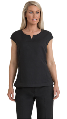 Picture of Corporate Comfort-FST60-992-Sorbtek Ladies Cap Sleeve Shell Top