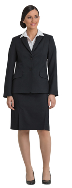 Picture of Corporate Comfort-FJK35-992-Sorbtek Ladies 2 Button Fully Featured Jacket