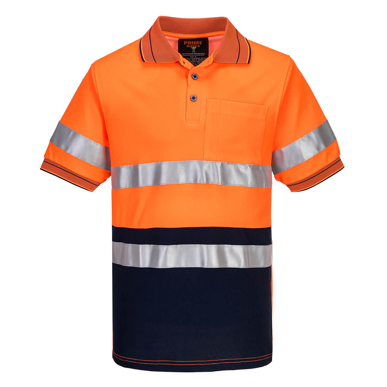 Picture of Prime Mover-MP310-Short Sleeve Cotton Comfort Polo With Tape
