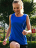 Picture of Bocini-CT0927-Stitch Feature Essentials-Ladies Stitch Singlet