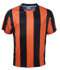 Picture of Bocini-CT1101-Kids Sublimated Striped Football Jersey