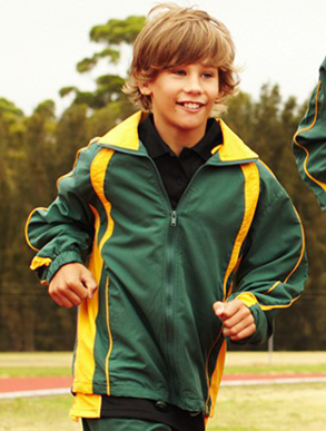 Picture of Bocini-CJ0534-Kids Track Suit Jacket With Contrast Panels