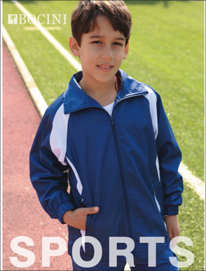 Picture of Bocini-CJ1025-Kids Training Track Jacket