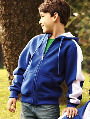 Picture of Bocini-CJ1222-Kids Contrast Fleece
