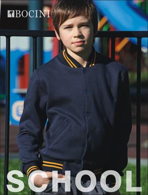Picture of Bocini-CJ1314-Kids School Wear Bomber Jacket