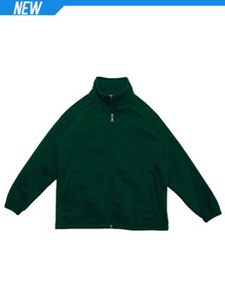 Picture of Bocini-CJ1575-Kids Poly/Cotton Fleece Zip Through Jacket