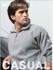 Picture of Bocini-CJ817-Unisex Adults 1/2 Zip Fleece With Pocket
