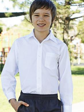 Picture of Bocini-CS1309-Boys Long Sleeve School Shirt