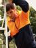 Picture of Bocini-SJ1104-Unisex Adults Hi-Vis Full Zip Hoodie