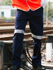 Picture of Bocini-WK1234-Unisex Adults Cotton Drill Work Pants With Reflective Tape
