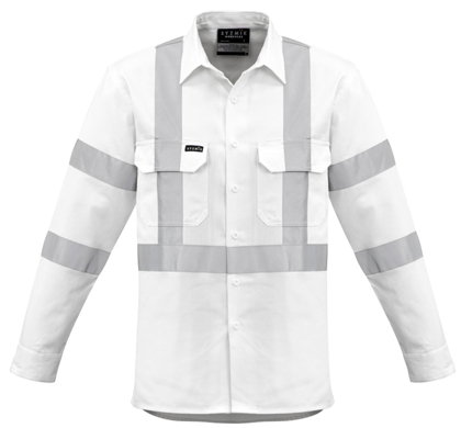 Picture of Syzmik-ZW621-Mens Bio Motion X Back Taped Shirt