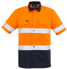 Picture of Syzmik-ZW835-Mens Rugged Cooling Taped Hi Vis Spliced S/S Shirt