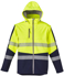 Picture of Syzmik-ZJ453-Unisex 2 in 1 Stretch Softshell Taped Jacket