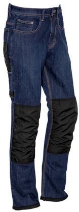Picture of Syzmik-ZP508-Mens Heavy Duty Cordura® Stretch Denim Jeans