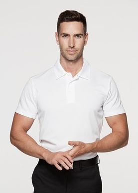 Picture of Aussie Pacific - 1307-Botany Mens Polo Shirts