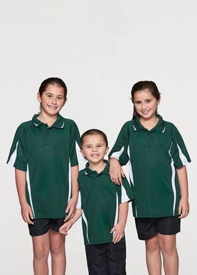 Picture of Aussie Pacific - 3304-Eureka Kids Polo Shirts