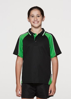 Picture of Aussie Pacific - 3309-Panorama Kids Polo Shirts
