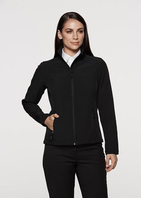 Picture of Aussie Pacific-2512-Ladies Selwyn Soft-Shell Jacket