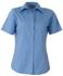 Picture of Identitee-W04(Identitee)-Ladies Short Sleeve Spandex Business Shirt