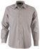 Picture of Identitee-W12(Identitee)-Mens Long Sleeve Shirt with Pockets, Panels & Stitch Detail