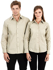 Picture of Identitee-W14(Identitee)-Ladies Long Sleeve Shirt with Contour Panels & Stitch Detail