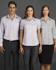 Picture of Identitee-W39(Identitee)-Ladies Short Sleeve Corporate Check Shirt