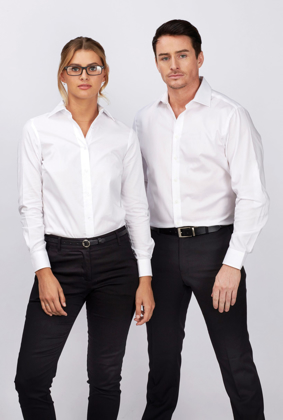 Picture of Identitee-W76(Identitee)-Mens Dexter 100% Cotton Wrinkle Free Oxford Shirt