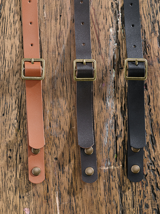 Picture of Identitee-A21(Identitee)-PVC 'leather look' neck strap