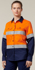 Picture of Hardyakka-Y08805-LONG SLEEVE HIVIS LIGHT WEIGHT 2 TONE VENTILATED SHIRT WITH TAPE